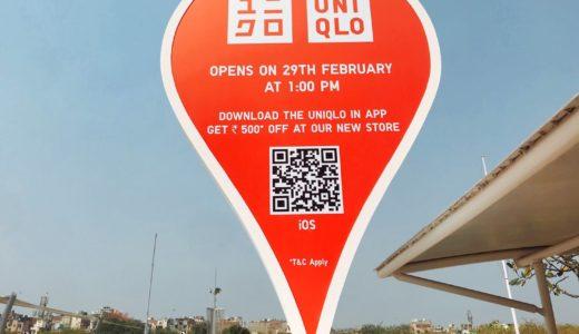 ユニクロ3号店がインド・サケットにオープン!開店初日のUNIQLOへ!気になるインド人の反応は?